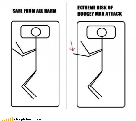 bed boogeyman safety sleeping