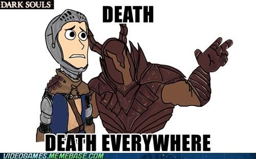 dark souls Death meme prepare to die - 6403071232