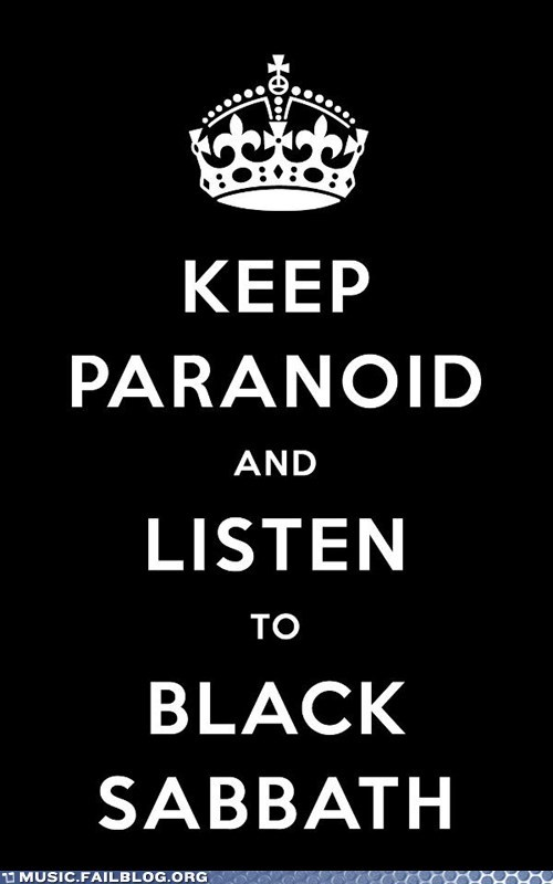 black sabbath keep calm keep calm and carry on