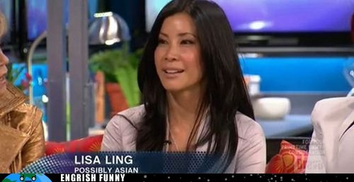Lisa Ling possibly asian
