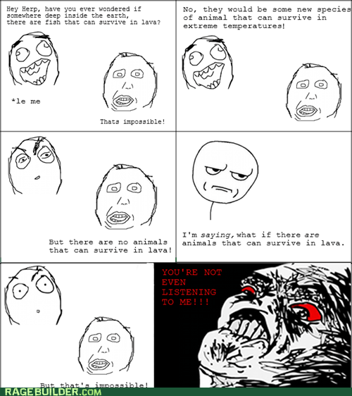 fish,lava,Rage Comics,raisin rage