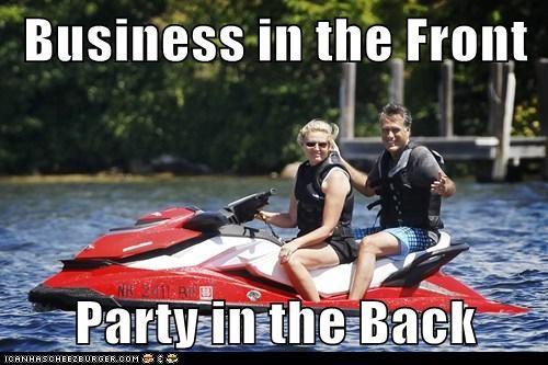 jet ski Mitt Romney political pictures - 6403170816