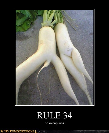 RULE 34 no exceptions
