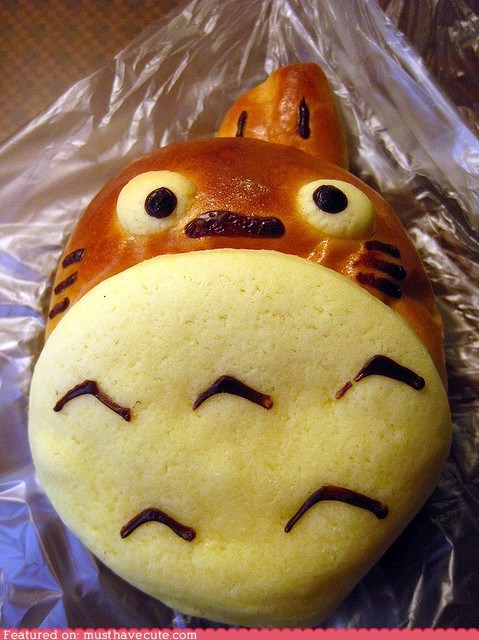 baked best of the week bread bun epicute totoro - 6403252736