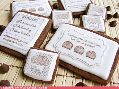 cookies design epicute message print wisdom