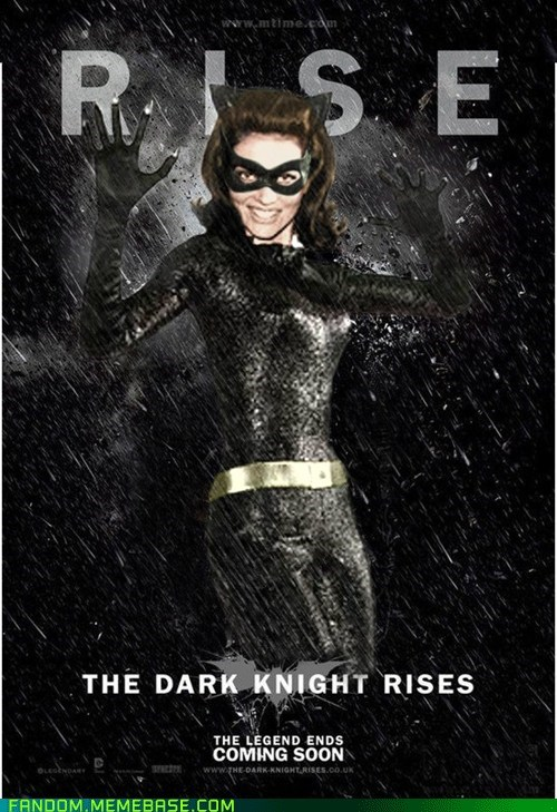 batman catwoman Dark Knight Rises The Movies vintage