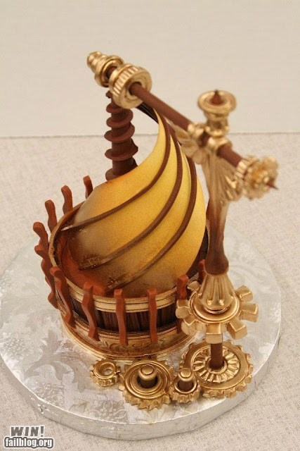 cupcake,cute,design,dessert,food,Steampunk