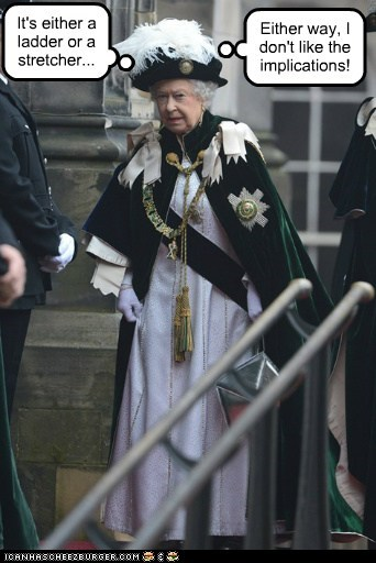 political pictures Queen Elizabeth II - 6403643392