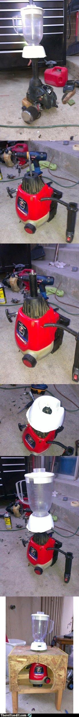 blender,drill,gas can,gas tank