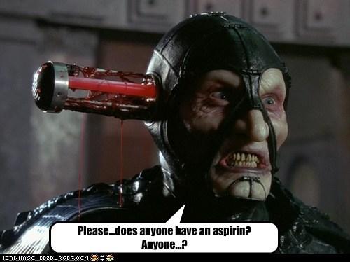 aspirin cooling farscape head headache hurts rod Scorpius - 6405165824