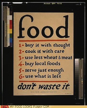 advice food preservation waste