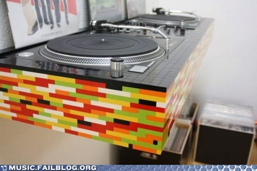 dj lego legos Music FAILS turntable - 6405388288