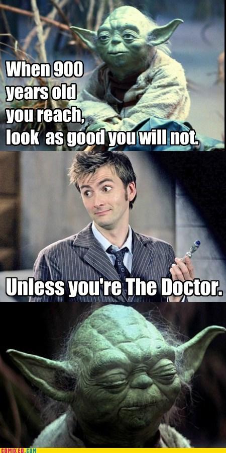 doctor who old star wars yoda - 6405729792