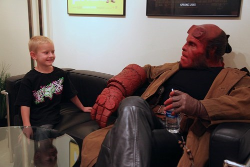 hellboy,Make-A-Wish Foundation,Ron Perlman