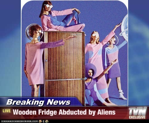 60s Aliens fashion fridge future models