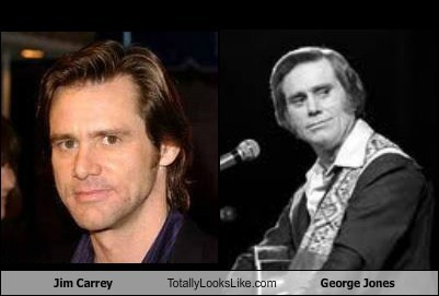celeb,comedian,funny,george jones,jim carrey,Music,TLL
