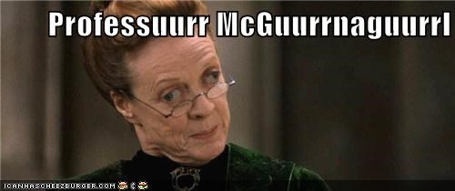 Harry Potter,Movie,professor mcgonagall,shopped