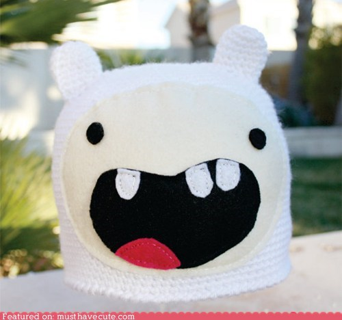 adventure time awesome character finn hat - 6407624704