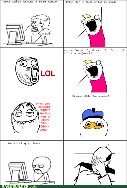 all the things genuis misused memes Rage Comics - 6407815680