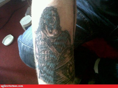 arm tattoos,Braveheart,mel gibson