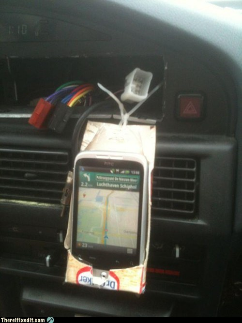 Creative Phone Caddy