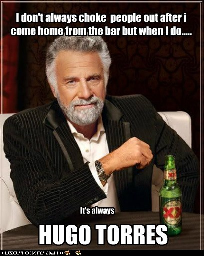 I Dont Always Choke People Out After I Come Home From The Bar But