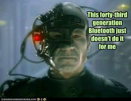 Captain Picard patrick stewart locutus borg bluetooth intrusive not impressed - 6408549632