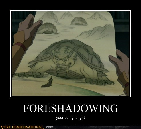 Avatar,cartoons,foreshadow,hilarious
