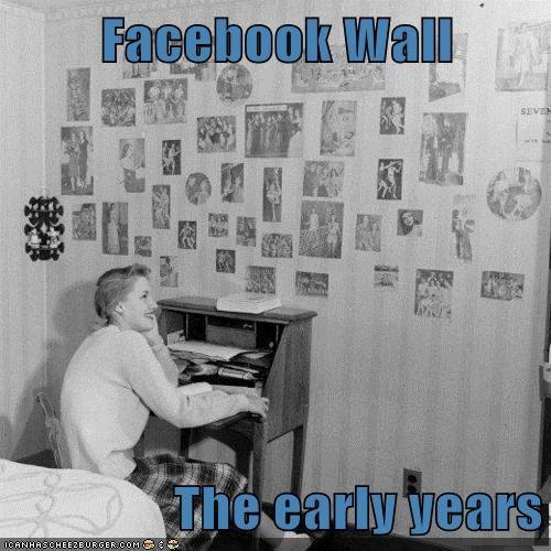 bedroom facebook photos wall - 6408884224