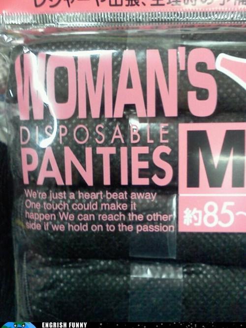 disposable panties panties - 6409531136