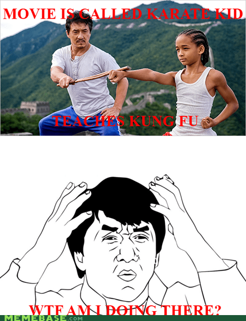 Jackie Chan Karate Kid kung fu Rage Comics remake - 6410007040
