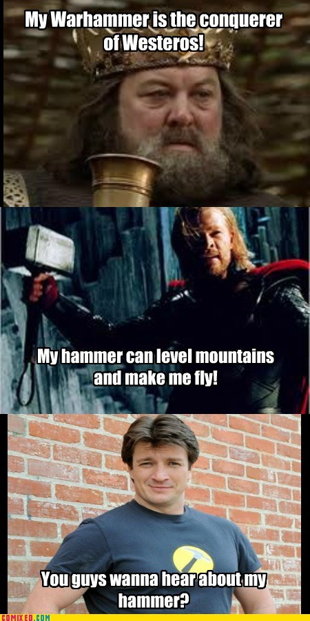 best of week Game of Thrones peen jokes the hammer the internets Thor