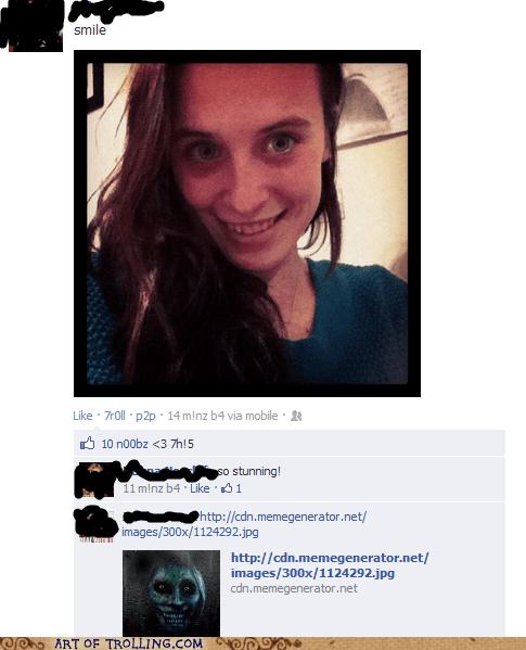 scary selfie creepypasta smile - 6410432000
