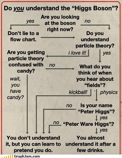 candy fields flow chart higgs boson particle physics science - 6410718976