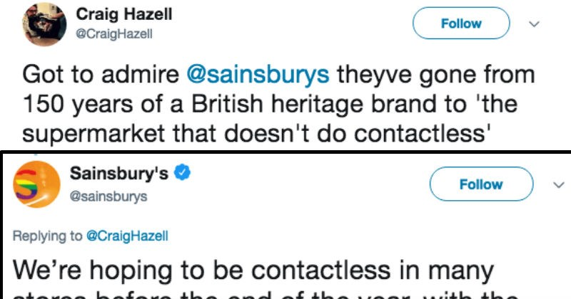 guy tries to flirt with customer service on twitter