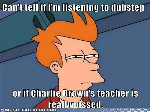 cant tell if charlie brown dubstep fry fry meme Hall of Fame not sure if