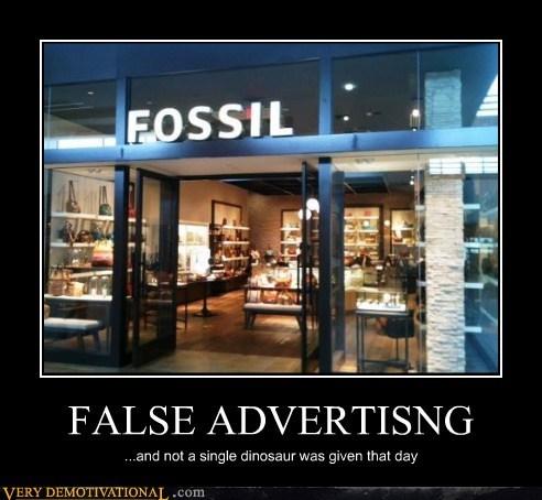 advertising dinosaur fossil hilarious - 6410888192