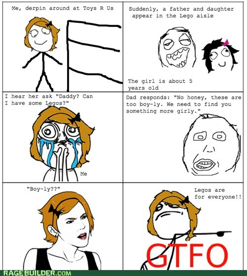 gtfo lego parenting Rage Comics - 6410915072