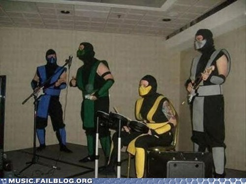 Mortal Kombat,rock band,video games