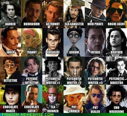 BEHOLD! The Mighty Johnny Depp