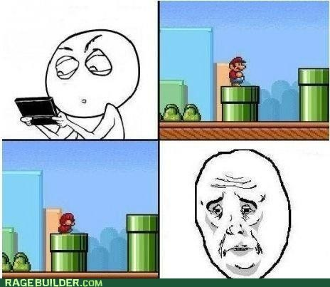 mario,Okay,Rage Comics,video games