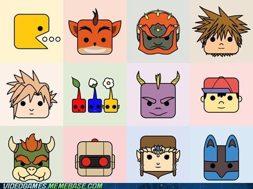 art avatars nostalgia video games - 6411108864
