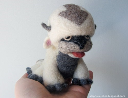 appa avatar-the-last-airbende cartoons cute Fan Art for sale Plush - 6411165184