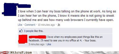 boss,cat and mouse,facebook,facebook status