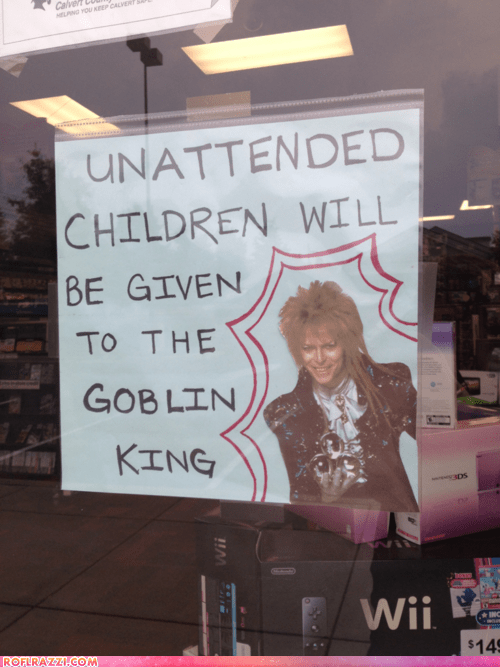 actor,celeb,david bowie,funny,Hall of Fame,labyrinth,Movie,Music,sign