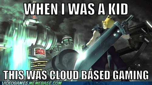best of week,cloud,final fantasy VII,nostalgia,the feels
