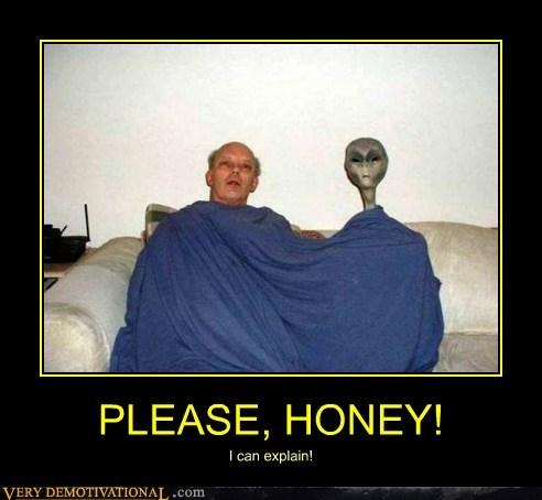 alien hilarious honey husband wife - 6411407104