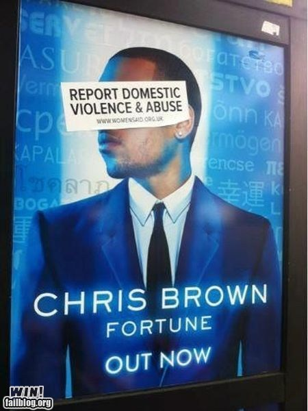 celeb chris brown clever ouch roflrazzi - 6411433728