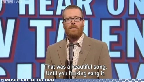 bad,screencap,singing,television,TV