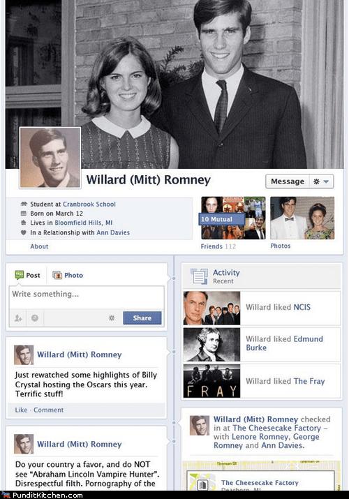 Ann Romney,facebook,Mitt Romney,political pictures